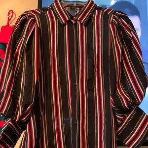 Striped blouse from fashion Nova